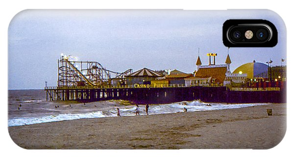 Casino Pier Boardwalk - Seaside Heights Nj IPhone Case
