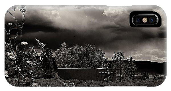Casita In A Storm IPhone Case