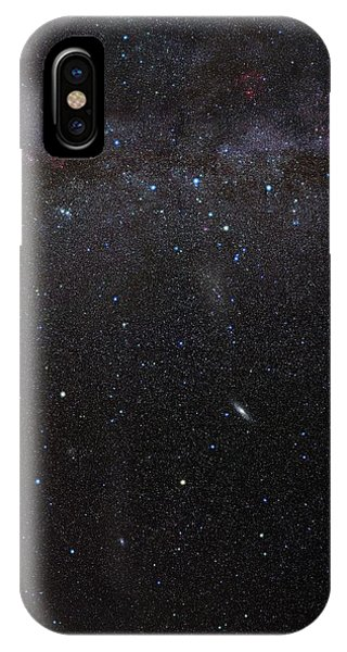 Constellations iPhone Case - Cassiopeia Constellation And Andromeda by Eckhard Slawik