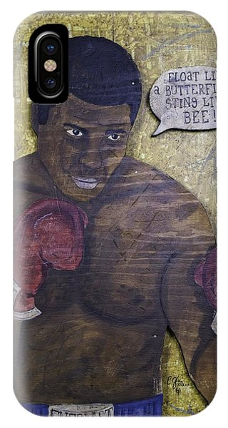 Cassius Clay - Muhammad Ali IPhone Case