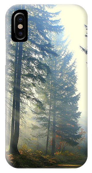 Union Creek Oregon Prescribed Burn IPhone Case