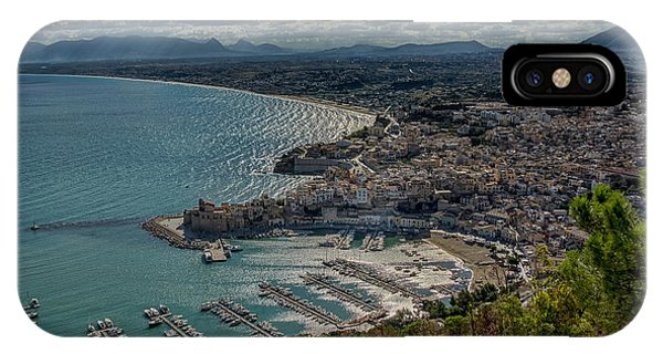 Castellammare Del Golfo IPhone Case