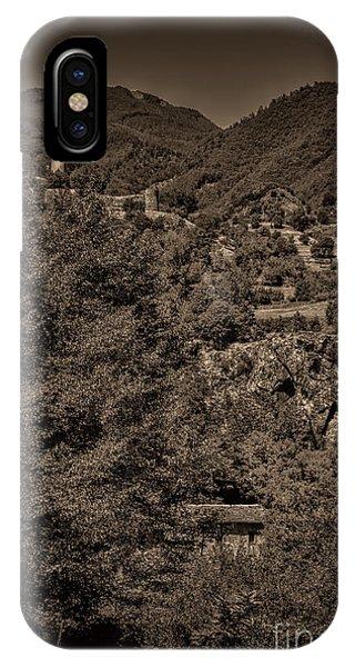 Castello Di Comano IPhone Case