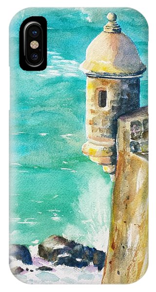 Castillo De San Cristobal Ocean Sentry  IPhone Case