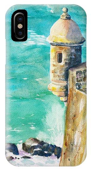 Castillo De San Cristobal Ocean Sentry  IPhone Case