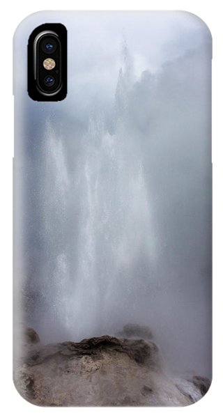Castle Geyser In June IPhone Case