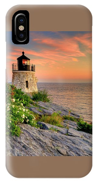 Castle Hill Lighthouse - Rhode Island IPhone Case