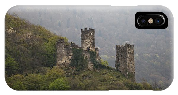 Castle In The Mountains. IPhone Case