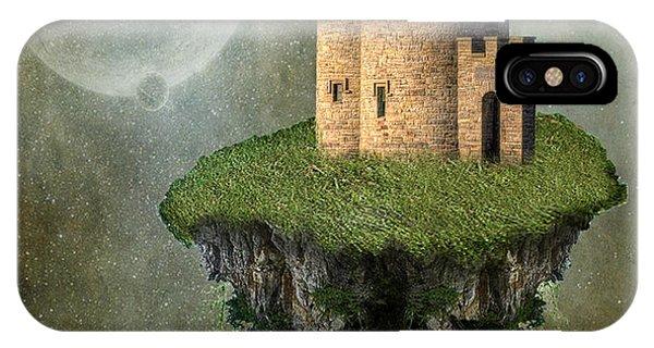 Celtics iPhone Case - Castle In The Sky by Juli Scalzi
