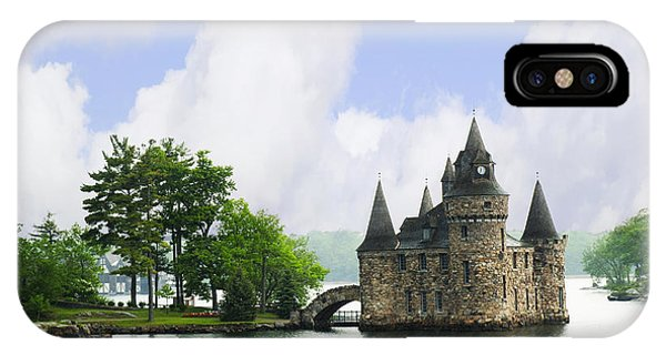Castle In The St Lawrence Seaway IPhone Case