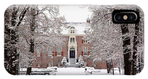 Castle In Winter Dress  IPhone Case