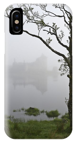 Castle Kilchurn Tree IPhone Case