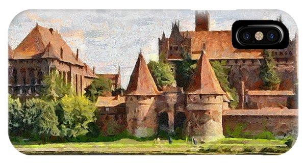 Castle Malbork Poland IPhone Case