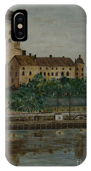Castle Of Vyborg IPhone Case