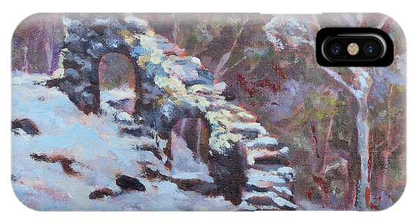 Sherri iPhone Case - Castle Ruins by Alicia Drakiotes