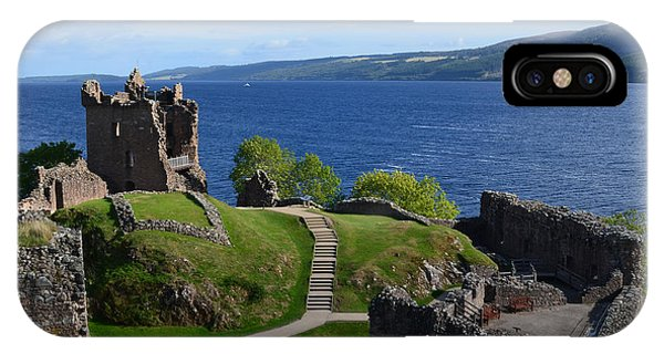 Castle Ruins On Loch Ness IPhone Case