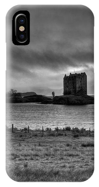 Castle Stalker Bw IPhone Case