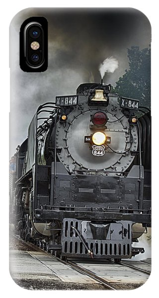 Casy Jones At The Helm IPhone Case