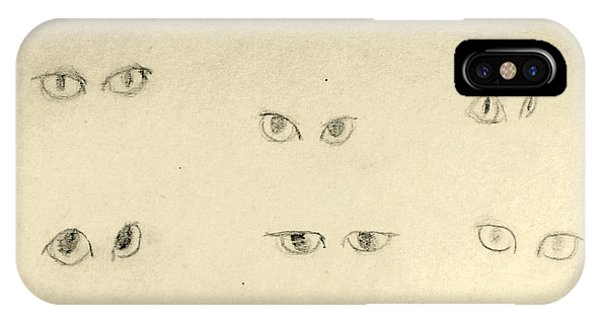 Cat Eyes -2 IPhone Case