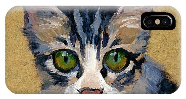 Cat Eyes IPhone Case
