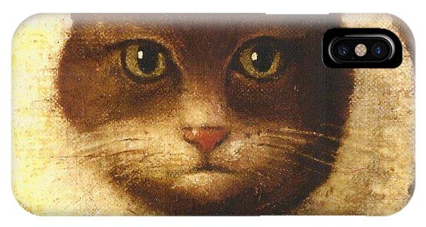 Cat In A Ruff IPhone Case