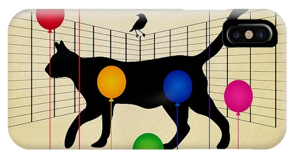 Cat iPhone Case - cat by Mark Ashkenazi