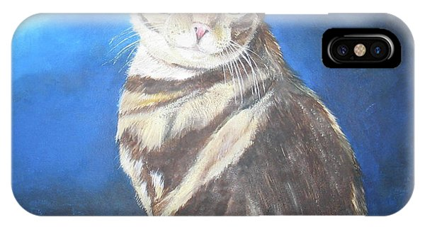 Cat Profile IPhone Case