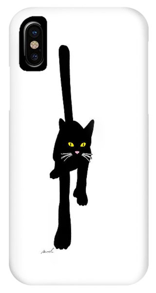 Cat Stepping Forward IPhone Case