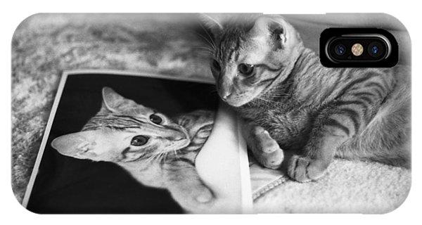 Cat Vanity IPhone Case