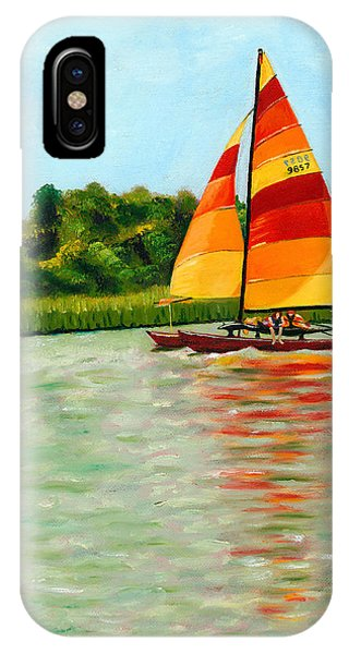 Catamaran  IPhone Case