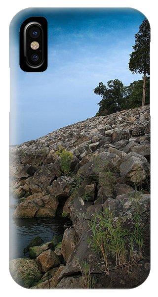 Catawba Point Shoreline IPhone Case