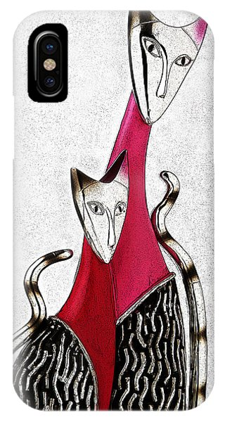 Catcat IPhone Case