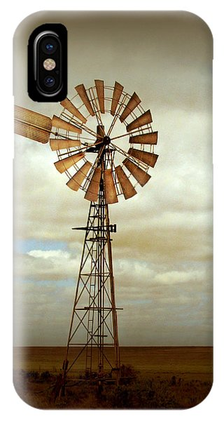 Rural Scenes iPhone Case - Catch The Wind by Holly Kempe