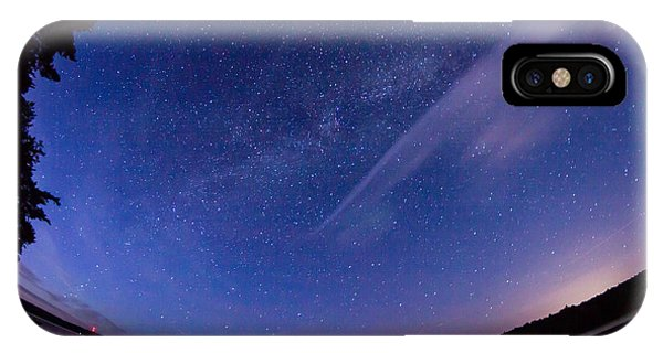 Catching The Milky Way Galaxy IPhone Case