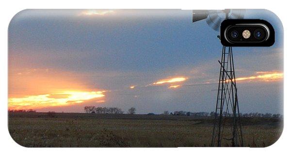 Catching The Wind In South Dakota IPhone Case