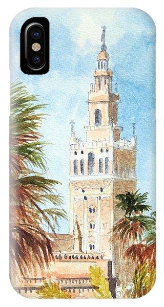 Catedral De Sevilla IPhone Case