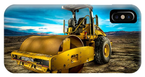 Caterpillar Cat Roller Cs563e IPhone Case