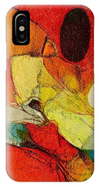 IPhone Case featuring the drawing Caterpillar  Vision by Cliff Spohn