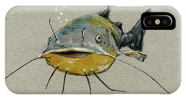 Catfish iPhone Case - Catfish by Juan  Bosco