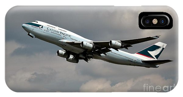 Cathay Pacific B-747-400 IPhone Case