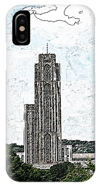 Cathederal Of Learning Artistic Brush IPhone Case