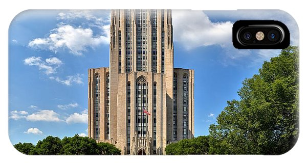 Cathedral Of Learning Pittsburgh Pa IPhone Case