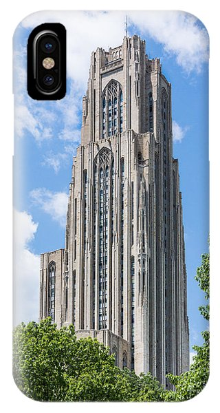 Cathedral Of Learning - Pittsburgh Pa IPhone Case