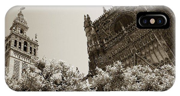 Cathedral Of Seville IPhone Case