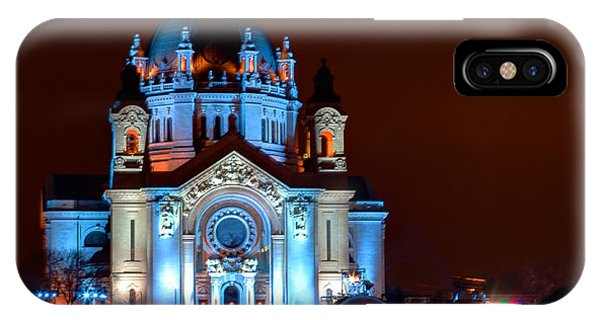 Cathedral Of St Paul All Dressed Up For Red Bull Crashed Ice IPhone Case