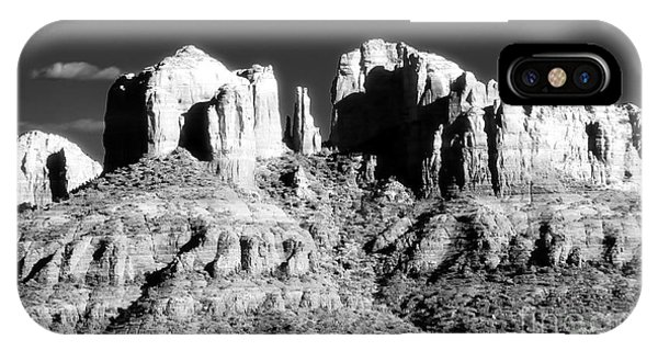Cathedral Rock Glow Phone Case by John Rizzuto