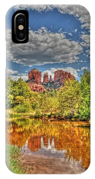 Cathedral Rock Painted IPhone Case
