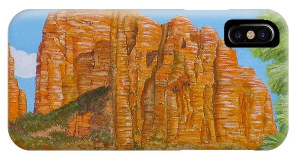 Cathedral Rock Sedona Az Right Phone Case by Carol Sabo