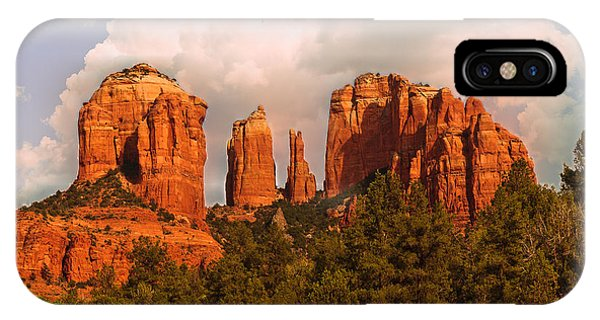 Cathedral Rock Sunset IPhone Case
