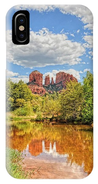 Cathedral Rock Tone Mapped IPhone Case